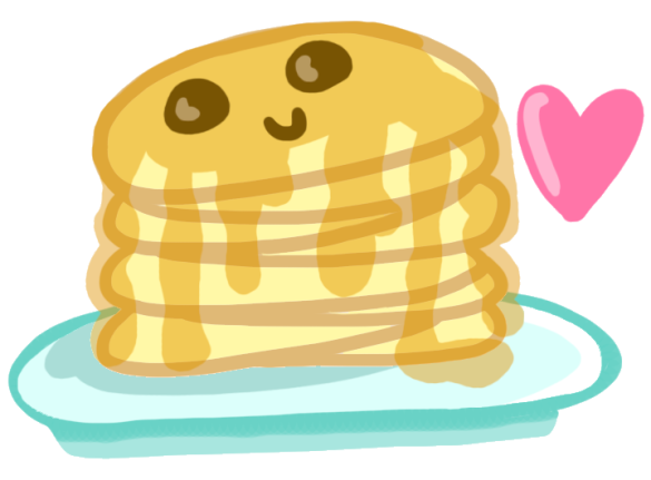 pancake_stack_by_hannahfreakinbanana-d3a65xc
